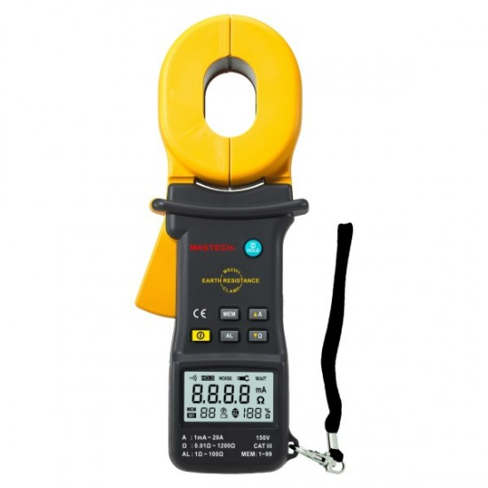 Mastech MS2301 Earth Resistance Clamp Meter  Price in Pakistan