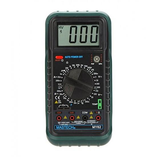 MASTECH MY62 Handheld Digital Multimeter