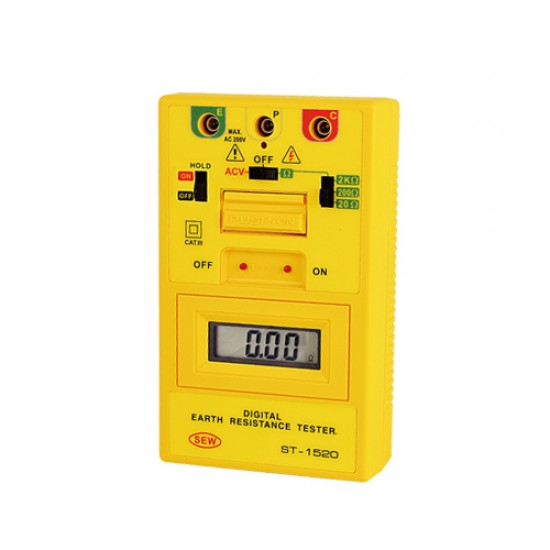 SEW ST-1520 Digital Earth Resistance tester