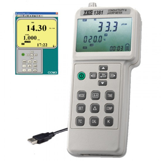 TES 1381K Conductivity & pH/ORP Meter  Price in Pakistan
