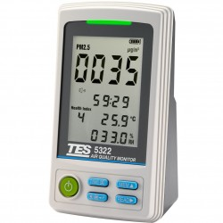 TES 5322 PM2.5 Air Quality Monitor