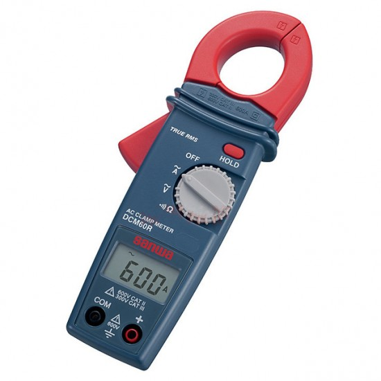 Sanwa DCM60R True RMS AC clamp meter digital ammeter