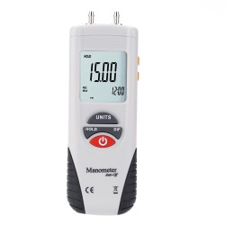 HT-1890 Digital Manometer Differential Air Pressure Gauge Meter Tester