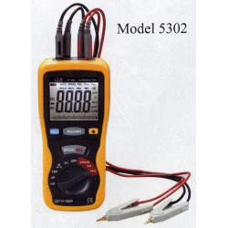 CEM ST-5302 DMM with Capacitance Voltage Current Small Resistance Kelvin 4-wire Meter