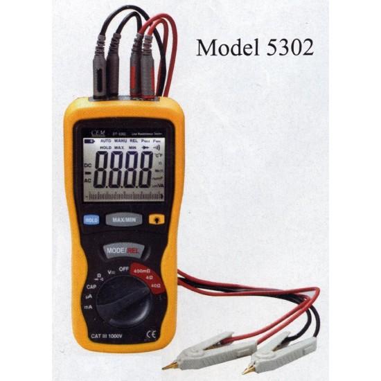 CEM ST-5302 DMM Small Resistance Kelvin 4-wire Meter  Price in Pakistan