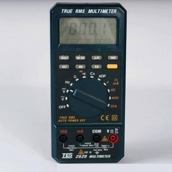 TES-2620 True RMS Multimeter   Price in Pakistan