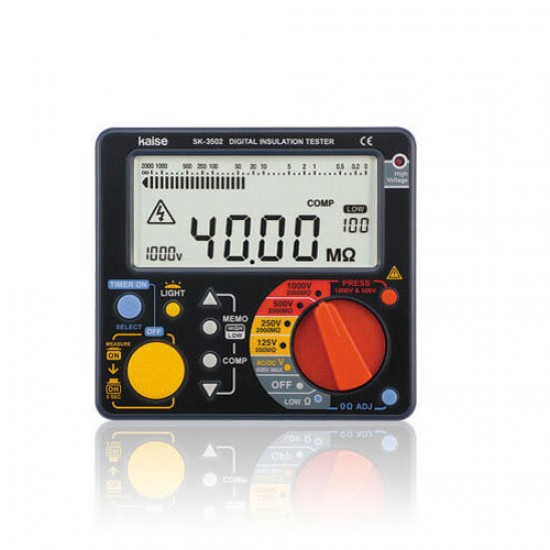 Kaise SK-3502 Digital  Insulation Tester  Price in Pakistan