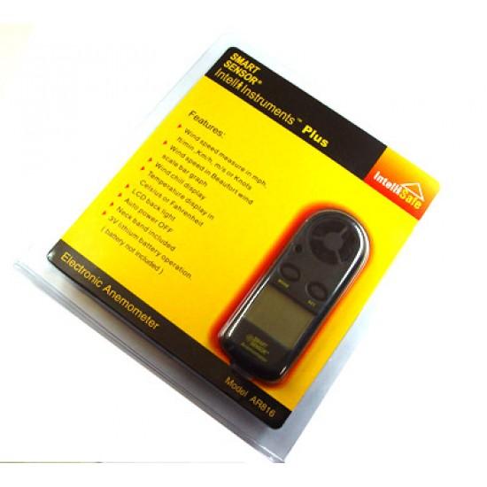 Smart Sensor AR-816 Pocket Anemometer