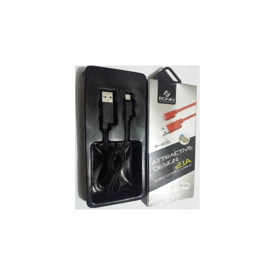 Ronin R-300 Quick Charge Cable 2.1A For IOS  Price in Pakistan