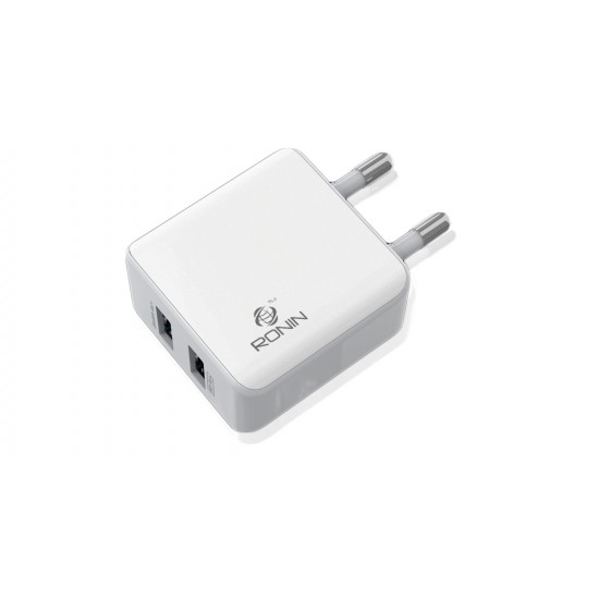 Ronin Universal Charger Dual USB R-655 2.4A For Android & Iphone  Price in Pakistan