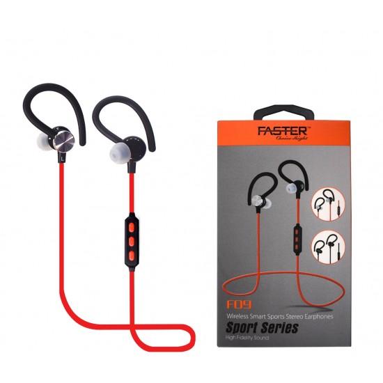 FASTER F09 Wireless Smart Earphones Sport Series