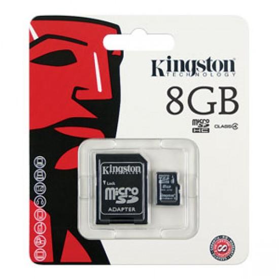 8GB Kingston Memory Card