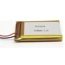 Lithium polymer battery 3.7V 3500mAh PD114270