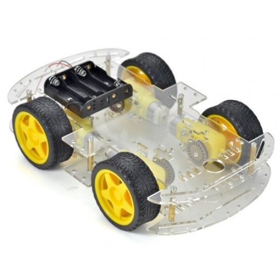 4WD Robot chassis