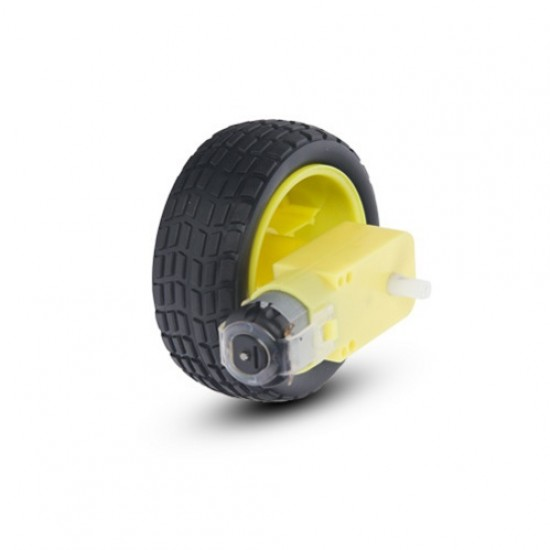 DC Gear Motor with tyre