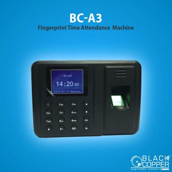 Black Copper | BC-A3 Fingerprint Time Attendance Machine  Price in Pakistan