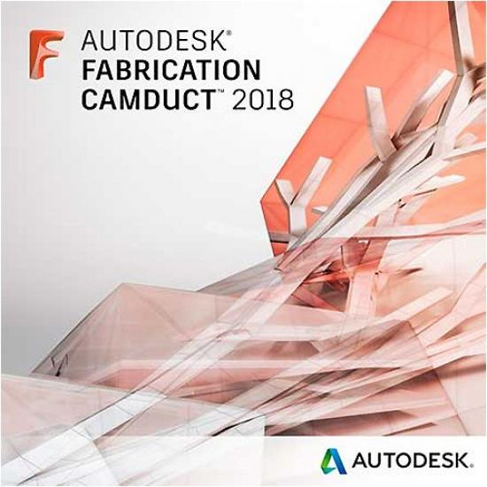 842J1-WW8695-T548 Autodesk Fabrication CAMduct 2018 Commercial New Single-user ELD Annual Subscription
