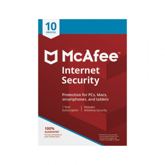 McAfee Internet Security 2018 10 Device  Price in Pakistan