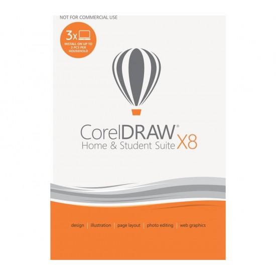 CorelDRAW Home & Student Suite X8 - Global Key (Lifetime)  Price in Pakistan