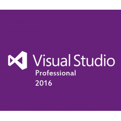Microsoft®VisualStudio®Professional 2016 Sngl OLP 1License NoLevel