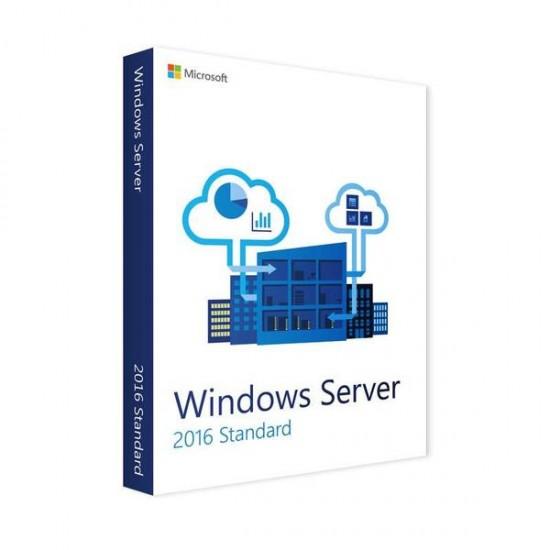 Microsoft Win Server STD 2016 R2 32/64bit 2Processor with DVD PACK  Price in Pakistan