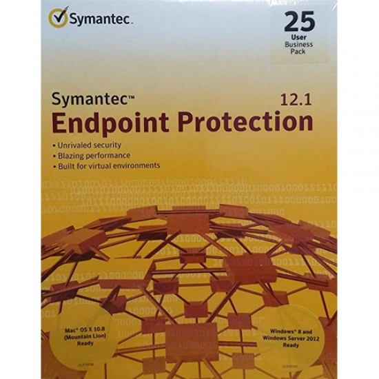 Symantec Endpoint Protection 12.1 - 25 User - 21182300  Price in Pakistan