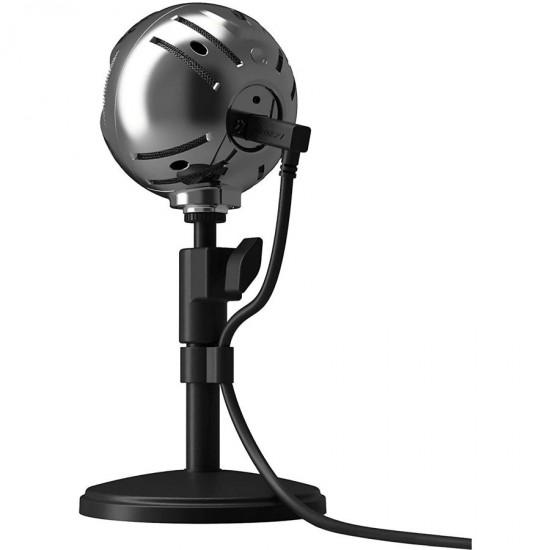 Arozzi SFERA USB Streaming Microphone (Chrome)  Price in Pakistan