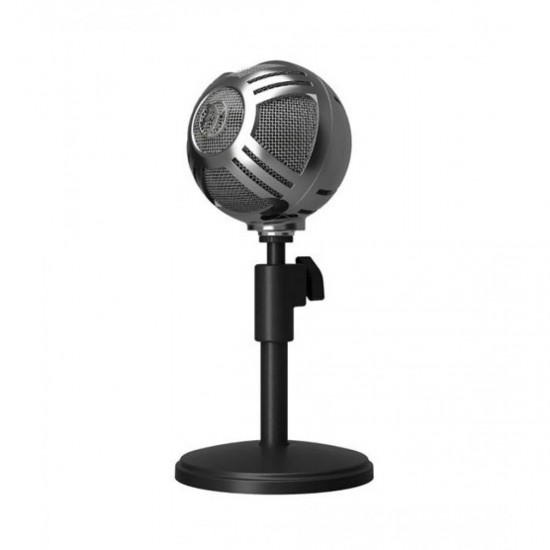 Arozzi Sfera Chrome Microphone Black  Price in Pakistan