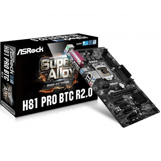 Asrock H81 Pro BTC R2.0 Motherboard  Price in Pakistan