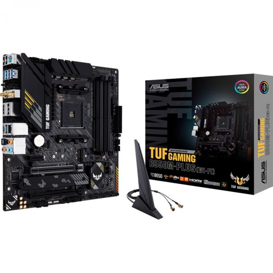 Asus Tuf B550M-Plus Wi-Fi AM4 Micro-ATX Motherboard  Price in Pakistan