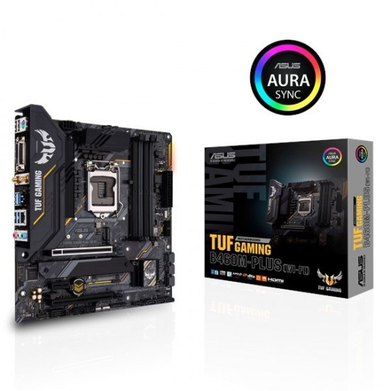 Asus Tuf Gaming B460M-Plus Intel (LGA 1200) ATX Motherboard  Price in Pakistan
