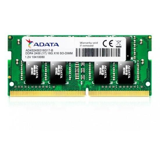 Adata 8GB DDR4 2400MHz SO-DIMM Memory AD4S240038G17-R  Price in Pakistan