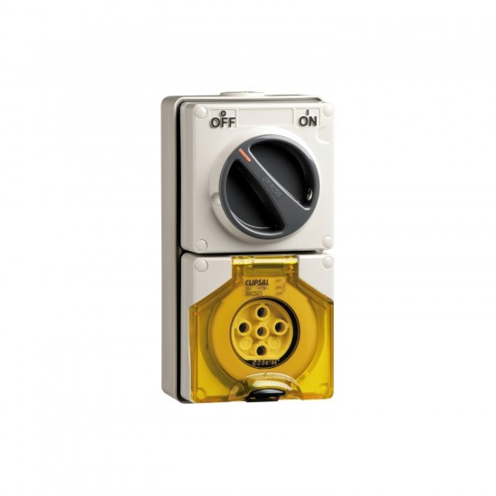 Clipsal S56C320, GY Combination Switched Socket  Price in Pakistan
