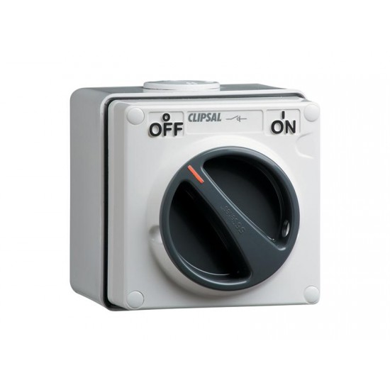 Clipsal S56SW110, GY 10 Amp ON/ OFF Surface Switch  Price in Pakistan