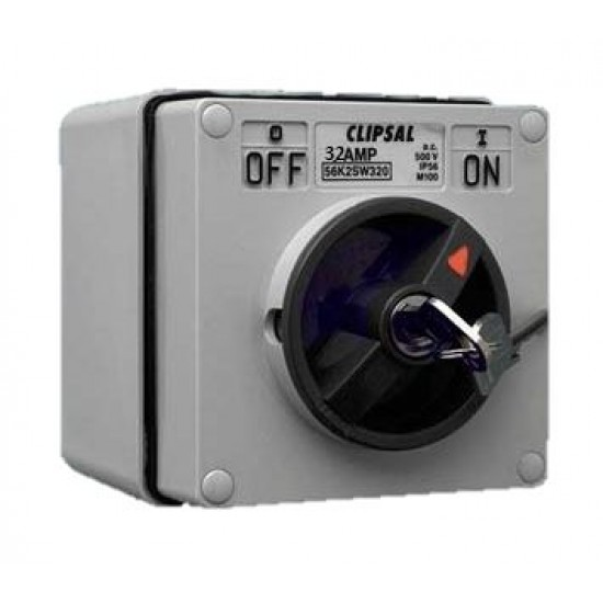Clipsal S56SW332, GY 3 Pole Surface Switch  Price in Pakistan