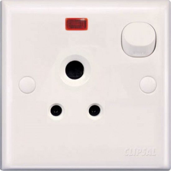 E-Series E15/15N 15 Amp Switch Socket With Neon  Price in Pakistan