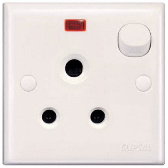 E-Series E15/5N 5 Amp Switch Socket With Neon  Price in Pakistan