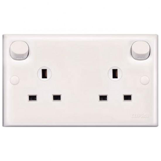 E-Series E25 13 Amp Duplex Switch Socket  Price in Pakistan