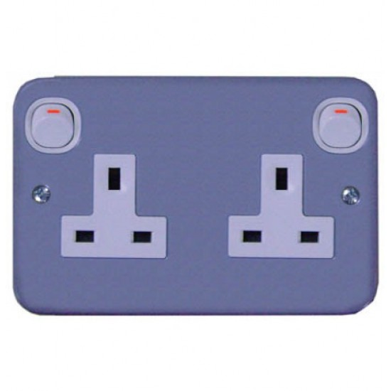 ESM ESM25 13 Amp Duplex Switch Socket  Price in Pakistan