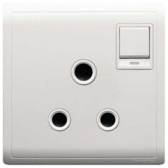 Pieno E8215‐15N 15A Round Pin Switched Socket With Neon  Price in Pakistan