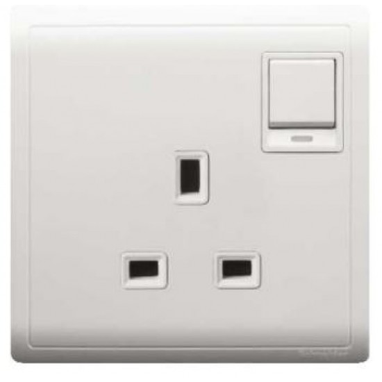 Pieno E8215N 13 Amp Switched Socket With Neon  Price in Pakistan