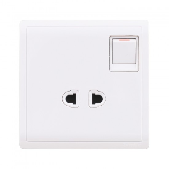 Pieno E8215US 10A Round Pin Switched Socket  Price in Pakistan