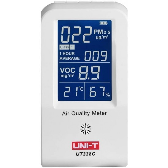 Uni-T UT338C Formaldehyde Detector PM2.5 Air Quality Monitoring Tester  Price in Pakistan