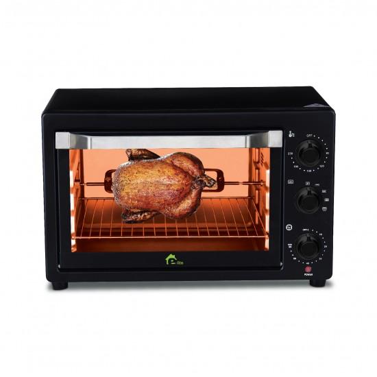 E-Lite ETO-221R Toaster Oven 22-LTR  Price in Pakistan