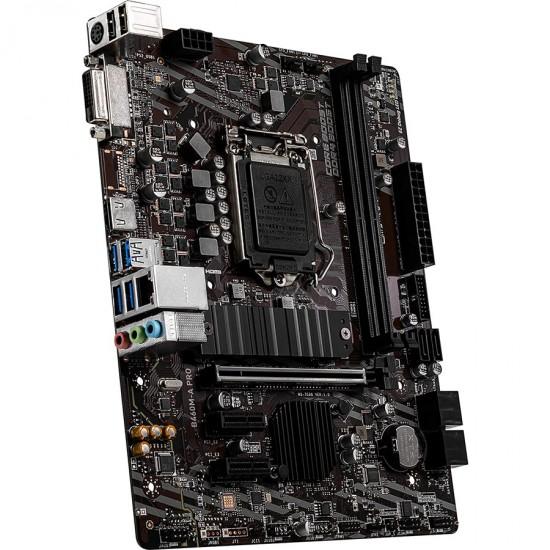 Intel B460M-A PRO 10TH Gen Motherboard   Price in Pakistan