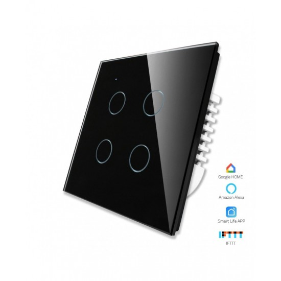 Mux Smart 4 Gang With Dimmer Wifi Enabled Switchboard  Price in Pakistan