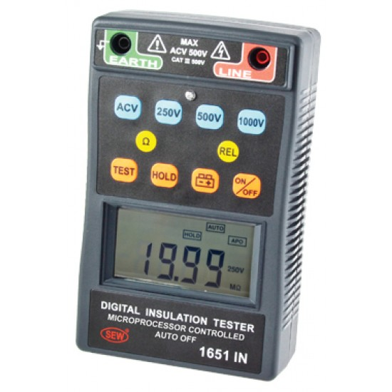 SEW 1651 IN Digital (Up to 1kV) Insulation Tester  Price in Pakistan