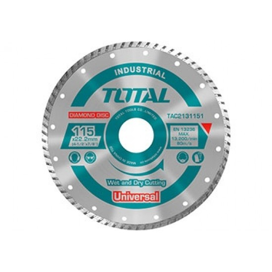 Total TAC-2131253 Turbo Diamond Cutting Disc  Price in Pakistan