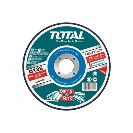 Total TAC-2211253 Abrasive Metal Cutting Disc  Price in Pakistan