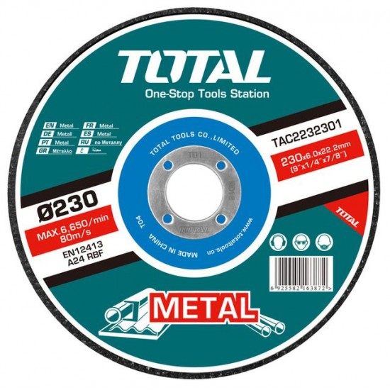 Total TAC-2232301 Abrasive Metal Cutting Disc  Price in Pakistan